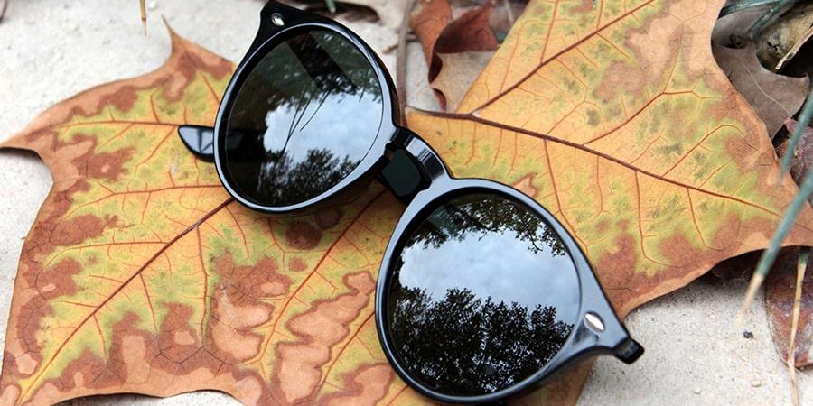 как выбрать солнцезащитные очки осенью фото