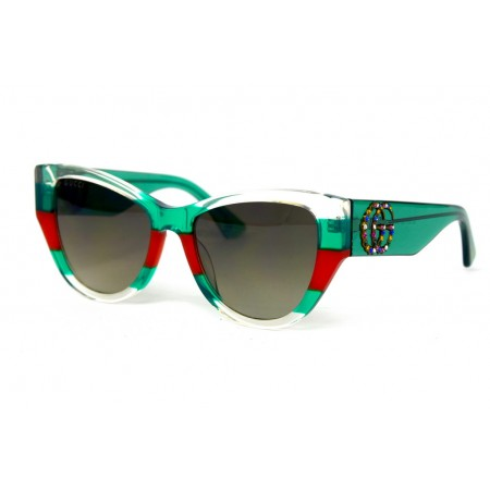 Очки Gucci 3876-green-red