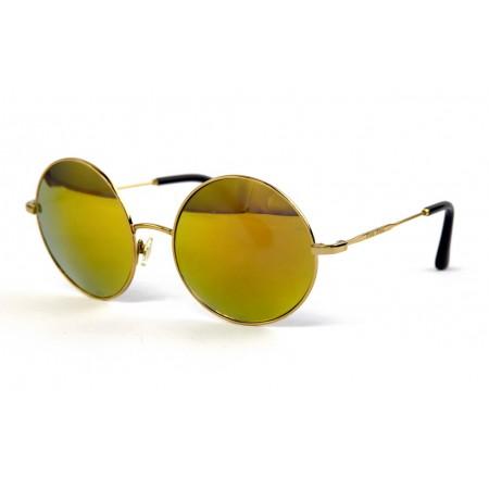 Очки Miu Miu 58-20-golden