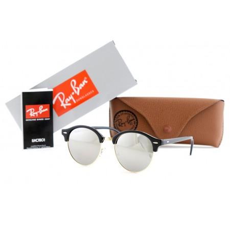 Очки Ray-ban круглые 4246-silver