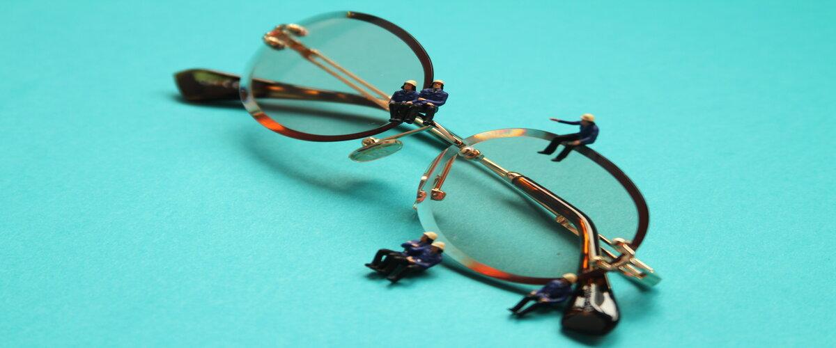 безоправные очки мужские фото