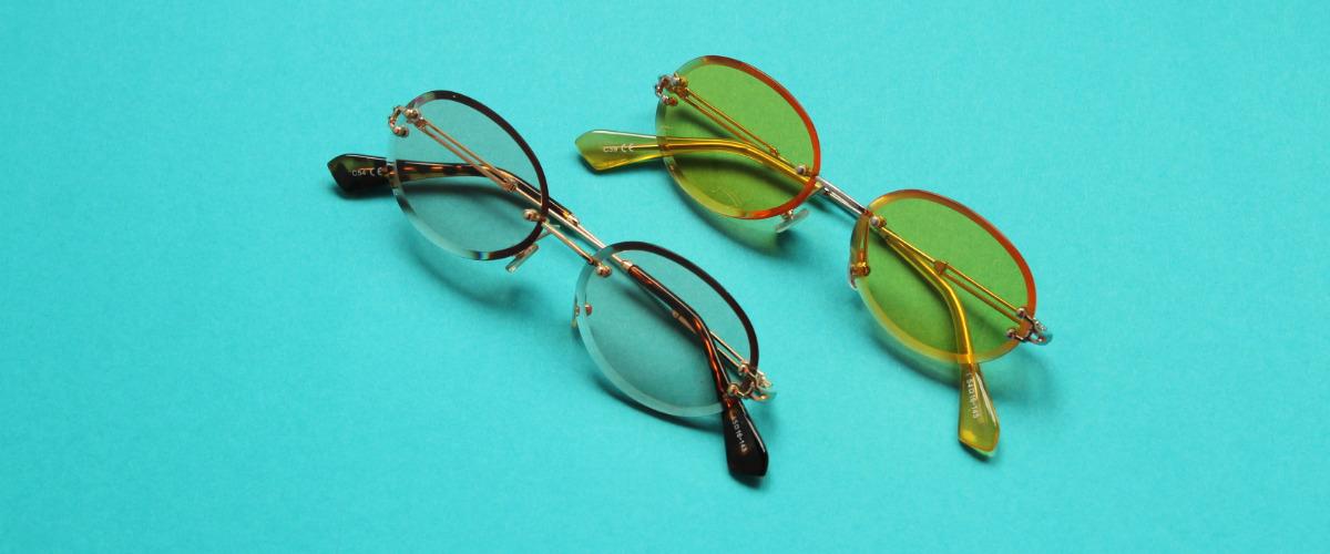 безоправные очки фото