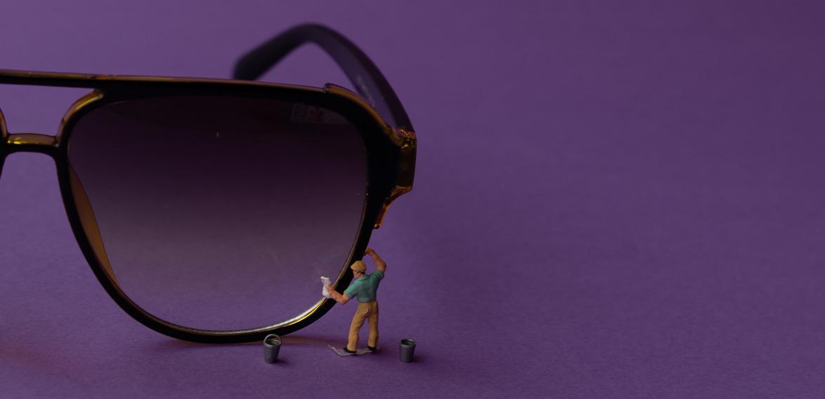 большие солнцезащитные очки фото