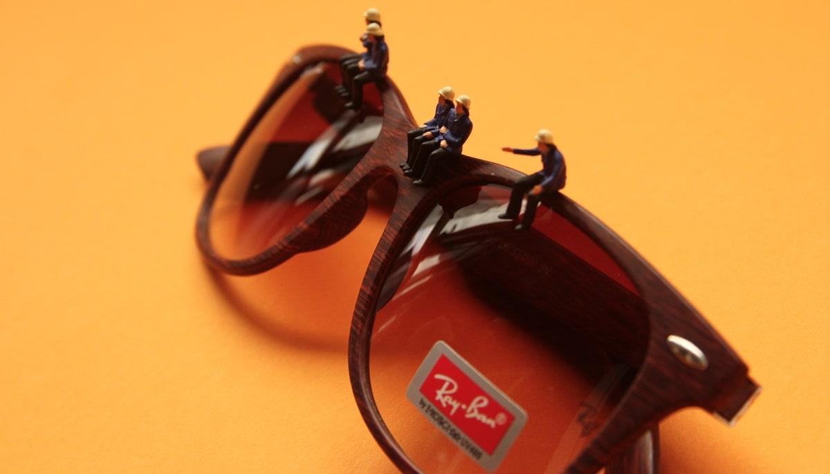 деревянные солнечные очки фото