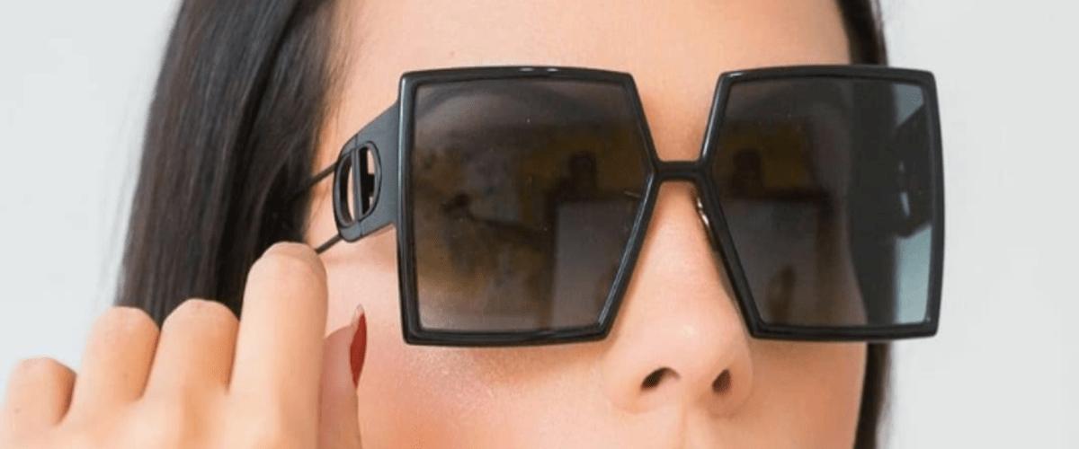 квадратные солнцезащитные очки фото