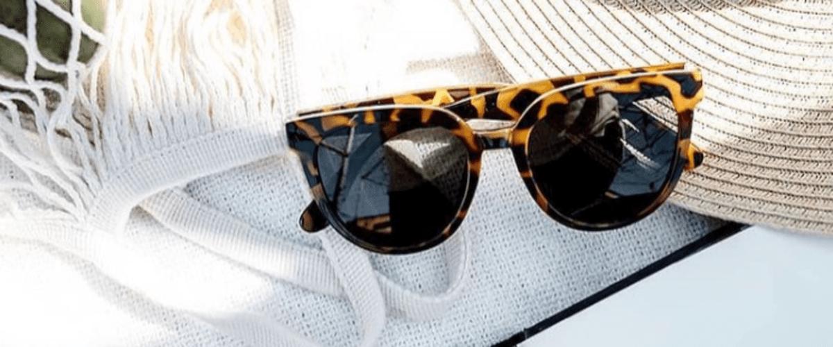 леопардовые очки от солнца фото
