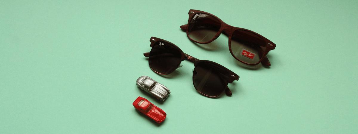 мужские солнцезащитные очки ray ban фото