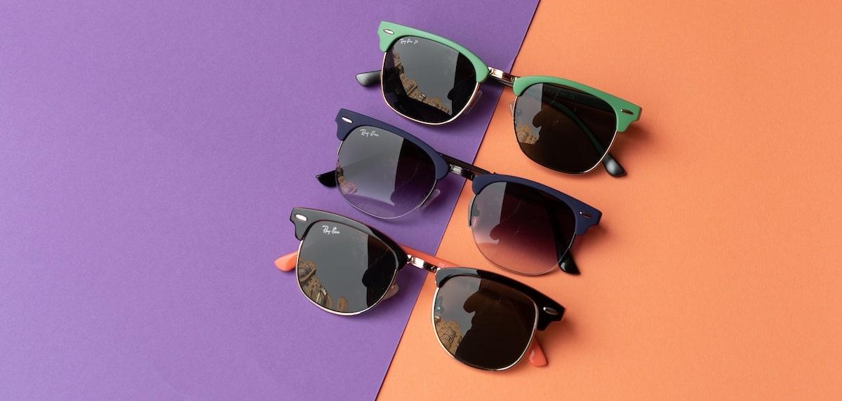 мужские солнцезащитные очки со стеклом фото