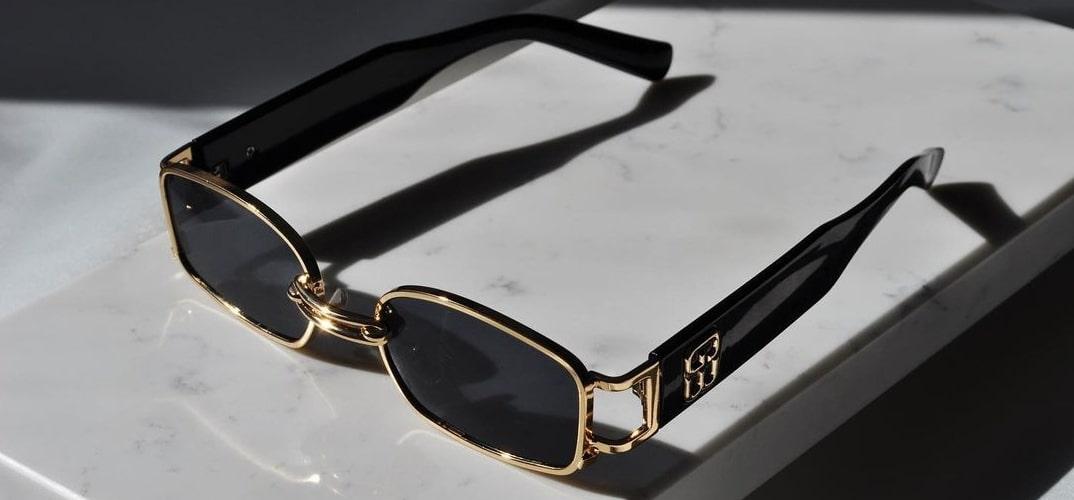 мужские узкие очки от солнца фото