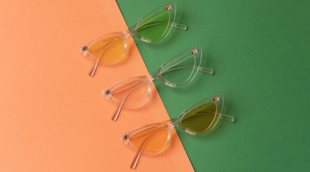 солнечные очки на узкое лицо фото