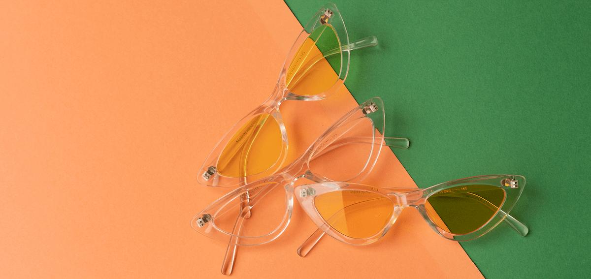 узкие солнцезащитные очки фото