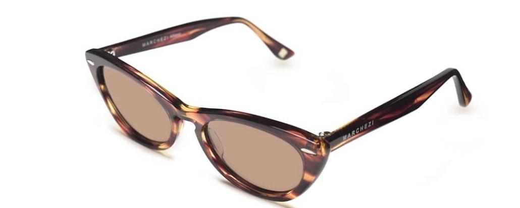 женские овальные очки от солнца фото