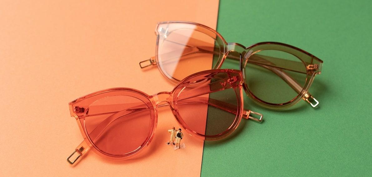 женские зеркальные очки от солнц фото